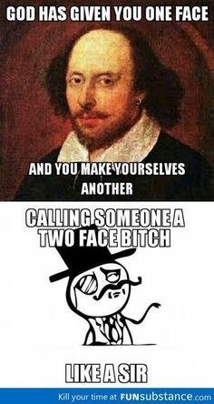 Insult like Shakespeare.