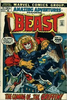 For sale marvel comics 1970 amazing adventures 15 first black fur beast angel x-men origin griffin tom sutton artwork jim starlin comic book emorys memories. Comic Books For Sale, Comics For Sale, Marvel Comic Books, Marvel Dc Comics, Comic Book Heroes, Comic Books Art, Comic Art, Book Cover Art, Comic Book Covers