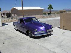 Cool custom Studebaker 53 coupe