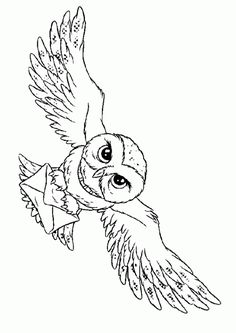 Harry Potter Owl Coloring page for kids. Harry Potter Owl Coloring page for kids. The post Harry Potter Owl Coloring page for kids. appeared first on Paris Disneyland Pictures. Harry Potter Hermione, Harry Potter Tattoos, Harry Potter Kunst, Images Harry Potter, Harry Potter Thema, Harry Potter Colors, Arte Do Harry Potter, Theme Harry Potter, Harry Potter Drawings