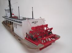 sternwheeler steamboat slide show Scale Model Ships, Scale Models, Wooden Model Boat Kits, Expedition Truck, Online Modeling, Paddle Boat, Steamboats, Boat Building, Exhibit