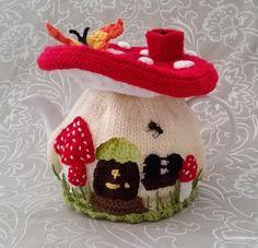 free crochet patterns christmas tea cosy - Google Search