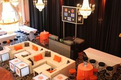 basketball decor for bar mitzvah | Basketball Theme and Lounge Decor all provided by Debbie's Designs ...