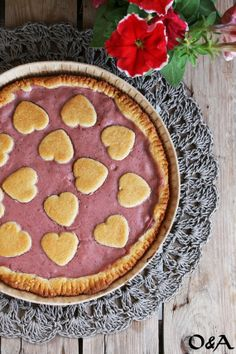 Olio e Aceto: Ricetta crostata con crema pasticcera alle fragole