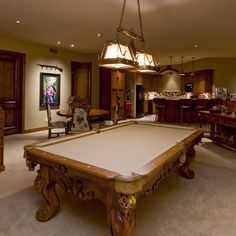 Pool Table, Game Table, Kitchenette/bar.
