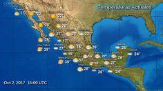 Pronostico del clima para el día de hoy