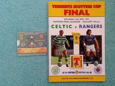 1999 - SCOTTISH CUP FINAL PROGRAMME + MATCH TICKET - CELTIC v RANGERS