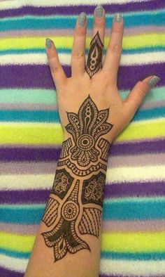 Mehndi Designs For Arms. ::  Wish I could !!!!