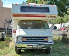 1978 Dodge Van Tioga Motorhome conversion van for sale under $1000 in El Paso, Texas TX