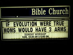 A great Blog and a funny church sign!