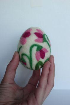 Easter Eggs Felted Wool Ornaments Gift Egg Needle Felted Ornament Easter Basket Easter Decorations, fragrance home decor