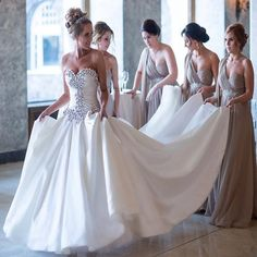 2017 Luxury Shiny Crystal Ball Gown Wedding Dress Sexy Sweetheart Vestido De Noiva High Quality Wedding Gowns