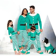 Elf Family Pajama Collection now finally we will be photo ready on Christmas morning!  The collar trim is perfect for the 3 boys