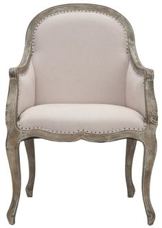 Tufted Upholstered Arm Chair   For the Home   Pinterest   House ...