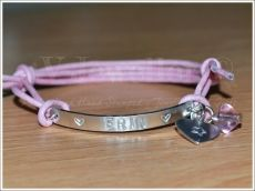 Personalised Multi-Plate Hand Stamped Bracelet + Add on Charm & Bead