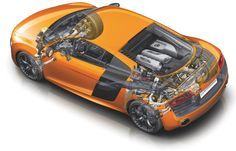 Did you know Audi engineers reduced the weight of the new R8 by roughly 50 kg? The R8 V10 plus, with the manual transmission, weighs in at 1,570 kg.    Join us at www.facebook.com/McCarthyWeCare