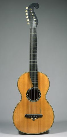 This guitar was made by the C. F. Martin Co. in New York in 1838