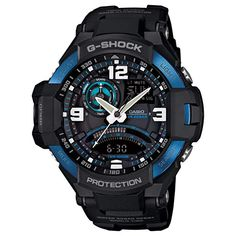 G-Shock GA1000-2B Master of Gravity Stylish Watch - Black   One Size e2a292cf3e