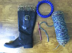 Sew Spoiled: Boot Cuff Tutorial  So cute. I am totally making these for fall and winter