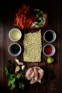 chicken and noodle stirfry