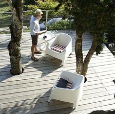 Deck around Trees IKEA Magazine
