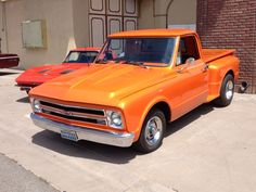 1967 Chevy C 10 Step Side Short Bed....   This is what will be sitting in our garage for a couple of years.