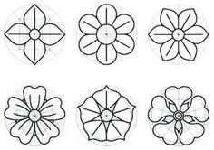 felt flower --------- pattern