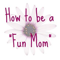 Sweet advice to be less stringent with your kids & more fun... within reason!