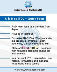 Indian Toners & Developers Ltd.