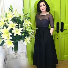With Love Kris Aquino Long Skirts, Short Dresses, Formal Dresses, My Idol, Dress Skirt, Drama, Asian, Gowns, Love