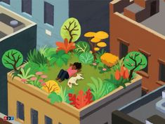 Rooftop Relaxation – New York Puzzle Company