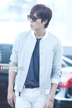Lee Min Ho @ Incheon airport 140410