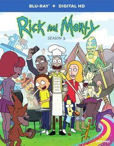 Rick and Morty: Season Two Blu-ray