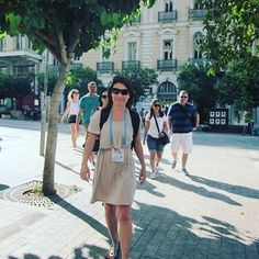 Touring Athens on foot with Dorina, one of our talented licensed guides! Modern History, Walking Tour, Athens, Touring, Greece, The Past, City, Fashion, Moda