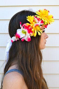 How to Make a Flower Crown   Flower Headbands