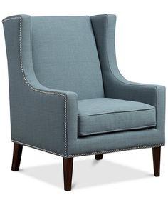 Sloane Fabric Accent Chair, Quick Ship | macys.com