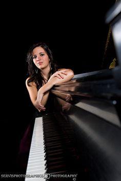 Piano Senior Picture Terre Haute, IN
