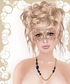 Perfect Hairstyle The Perfect Hairstyle To Wear To A Masqueradeclick For Video