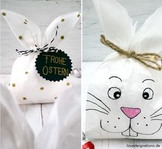 Osterverpackung: Hasen-Tüten - Love Decorations - Hasen-Tüte Ostern 11 La mejor imagen sobre diy face mask para tu gusto Estás buscando algo y no h - Happy Easter, Easter Bunny, Wallpaper World, Love Decorations, Diy Decoration, Bunny Bags, Diy Ostern, Easter Crafts, Thanksgiving Crafts