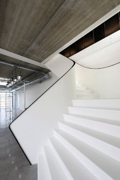 1. These stairs that go up to a rooftop space in a Japanese home, designed by Yoshiaki Yamashita . Photography by Eiji Tomita 2. These stairs in a house in Moscow, designed by SL*Project ...
