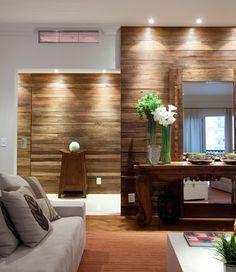 Apê rústico na cidade. Veja: http://casadevalentina.com.br/projetos/detalhes/ape-rustico-na-cidade-541  #decor #decoracao #interior #design #casa #home #house #idea #ideia #detalhes #details #style #estilo #casadevalentina #rustic #rustico #livingroom #saladeestar