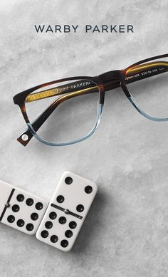 Set the scene with a pair of glasses that's part brown, part blue—with a whole lotta style. Shop Warby Parker's Winter Collection: