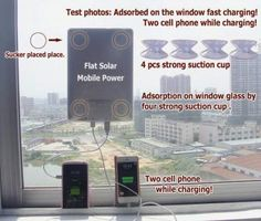 Portable solar charge Pad High-grade solar battery for Apple iPhone by yassolar Solar Energy, Solar Power, Solar Battery Charger, Solar Generator, Apple Iphone