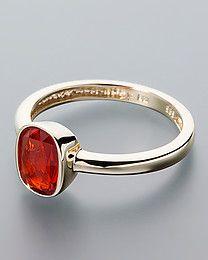 Terra Opalis Goldring mit Opal