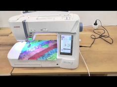 Janome Skyline S7: Quilting Menu - YouTube