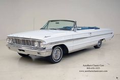 1964 Galaxie 500 XL Ford......turquoise and white