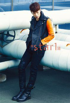 BEAST's Yoon Doo Joon @Star1 Korea Magazine Vol.6 September 2012