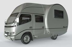 Beauer 3X expandable teardrop trailer gives you 3x the space