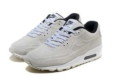 Nike Air Max 90 Women Shoes Grey White 3006