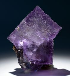 Fluorite  Locality: Elmwood Mine, Smith County, Tennessee Size: Specimen stands 1.17 inches tall.